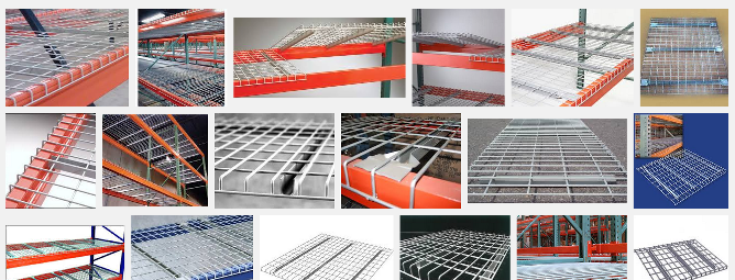 types of wire decking