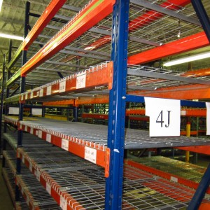Used Heavy-Duty Shelving