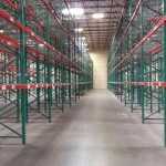 used warehouse pallet rack liquidation