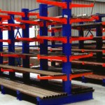 warehouse cantilever pipe racking