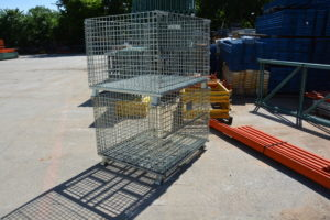 heavy duty wire storage baskets